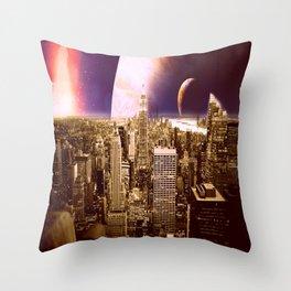 New New York Throw Pillow