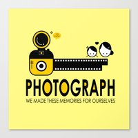 photograph Canvas Prints featuring PHOTOGRAPH by Ain Rusli