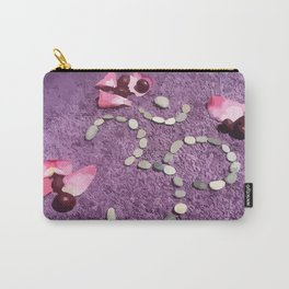 OM with Stones Purple Carry-All Pouch