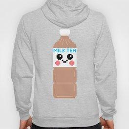 Happy Pixel Milk Tea Hoody