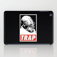 stickers iPad Cases featuring Obey Ackbar's TRAP by Don Calamari