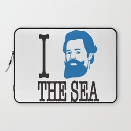 I __ The Sea Laptop Sleeve