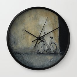 I've Seen Darker Days Wall Clock