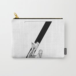 Mermaid Alphabet Series - Z Carry-All Pouch
