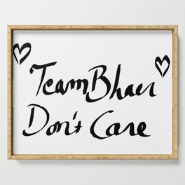 Team Bhaer Don´t Care Serving Tray