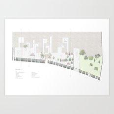 plan Art Print