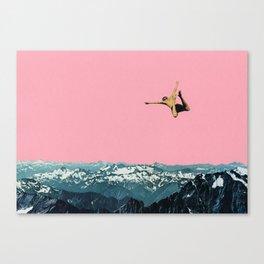 Higher Than Mountains Canvas Print