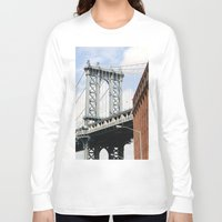 dumbo Long Sleeve T-shirts featuring DUMBO by Christian Hernandez