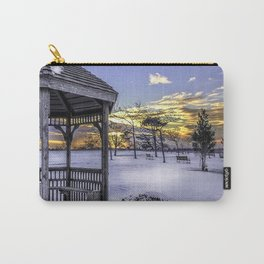 Winter in the Park Carry-All Pouch