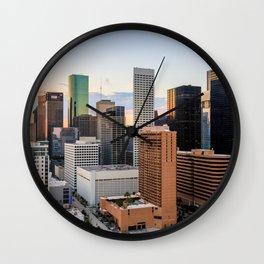 Sunset City Wall Clock