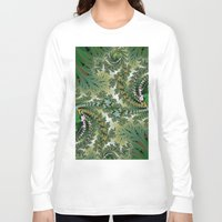 fractal Long Sleeve T-shirts featuring Fractal by nicky2342