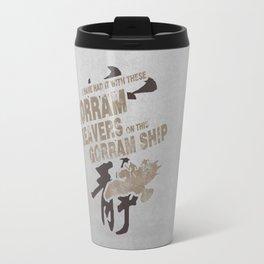 Firefly and Serenity: Gorram It! Travel Mug
