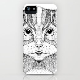 Cat 11 iPhone Case