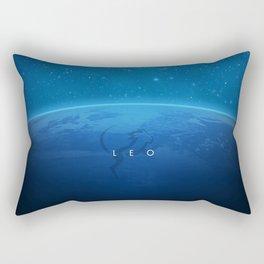 Leo: Astrological Art Rectangular Pillow