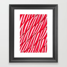 Sugar Surface Framed Art Print
