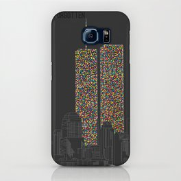 2606 Souls compose The Twin Towers iPhone Case