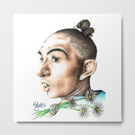 Pepper -AHS Metal Print