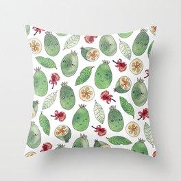 Feijoa Throw Pillow