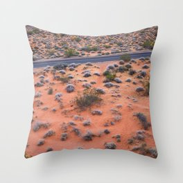 Valley of Fire, NV Throw Pillow