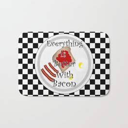 Everything Is Better With Bacon Bath Mat