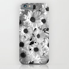 Daisy Chaos in Black and White Slim Case iPhone 6s