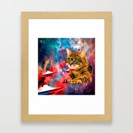 Goddamn it Garfield Framed Art Print
