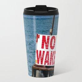 No Wake Travel Mug