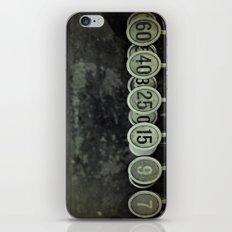 Numbers iPhone & iPod Skin