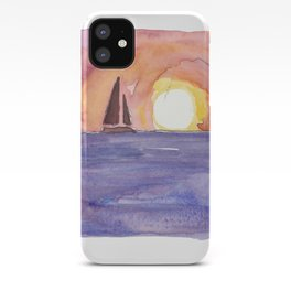 Key West Florida Conch Dreams Mallory Square Sunset iPhone Case