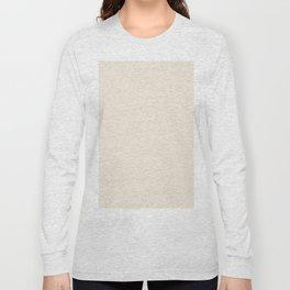 Rose Petal Cream Long Sleeve T-shirt