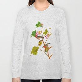 Bay-breasted Warbler Bird Long Sleeve T-shirt