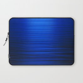 Sunset on the Water-Deep Blue Laptop Sleeve