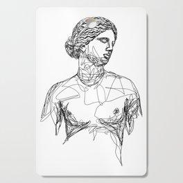 Aphrodite Greek Goddess Cutting Board