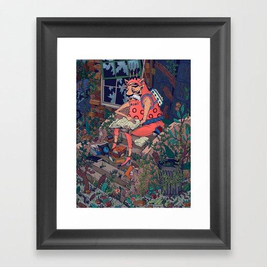 The Last Guy Framed Art Print