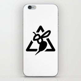 Wasp Sign iPhone Skin
