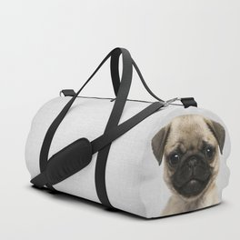 Pug Puppy - Colorful Duffle Bag