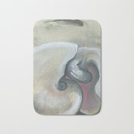 Sleeping Lovers (Shells) Bath Mat
