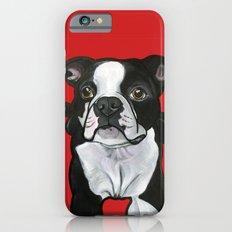 Bobo the Boston terrier Slim Case iPhone 6s