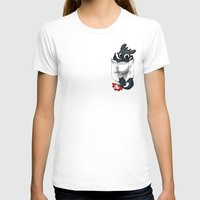 pocket T-shirts featuring Pocket Pal by Dooomcat