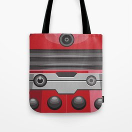 Dalek Red - Doctor Who Tote Bag