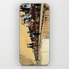 1900s Haydarpasa railroad station, train iPhone Skin