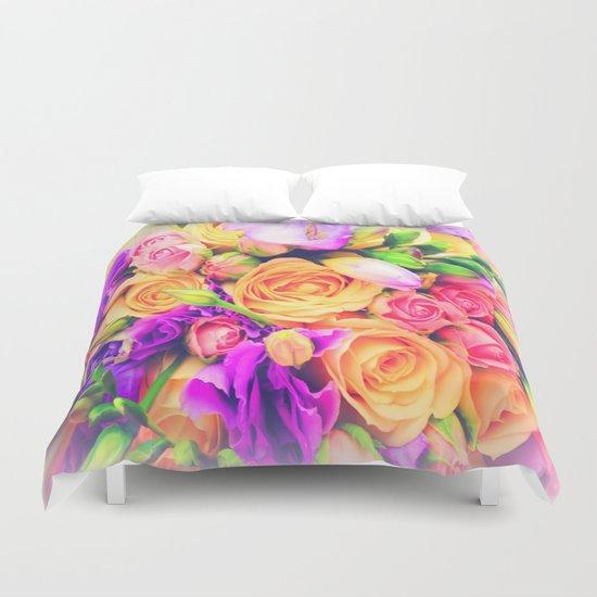 Roses 1 Duvet Cover