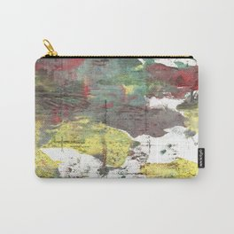 Wenge abstract watercolor Carry-All Pouch
