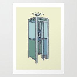 San Dimas Telecoms Art Print