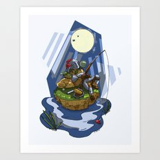 Fantasy Nap Art Print