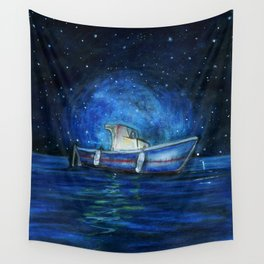 Sailing the Ocean Wall Tapestry