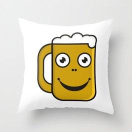 Beer party  #society6 #decor #buyart #artprint Throw Pillow