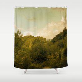 If nature could paint Shower Curtain