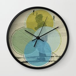 Cold Filters Wall Clock
