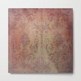 Damask Vintage Pattern 10 Metal Print